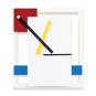 Wanduhr »De Stijl« nach Piet Mondrian. Bild 2