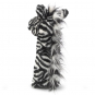 Zebra Handpuppe. Bild 2