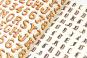 Geschenkpapier »Alphabete«. Bild 3