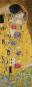 Kunst-Liegestuhl Gustav Klimt »Der Kuss«. Bild 3