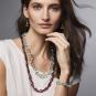MET Halskette »Glitzerperlen mintfarben«. Bild 3
