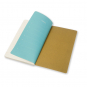 Moleskine Chapter-Notizheft Slim Medium Liniert Olive. Bild 3