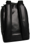 Moleskine Rucksack aus Kunstleder, schwarz. Bild 3