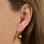 Ohrringe aus Murano Perle, blau. Bild 3