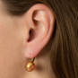 Ohrringe Muranoglas rot. Bild 3