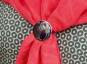 Schal Ring Charles M. Mackintosh »Rose«, violett. Bild 3