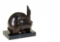 Bronzefigur Umberto Boccioni »Hase«. Bild 4