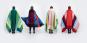 Decke »Mikkel rot«. Vom Bauhaus inspiriert. Bild 4