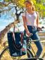 Fahrradtasche »Kannwas« mit Trageriemen, blaubeerblau. Bild 4