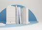 »Flatiron Building«. Modell-Replik und Buchstütze. Bild 4