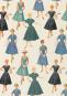 Geschenkpapier »Mode der 1950er-Jahre«. Bild 4