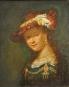 Ohrringe nach Rembrandts »Saskia«. Bild 4