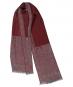 Roter Schal aus 100 % Wolle »Come«. Bild 4