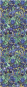Seidenschal Vincent van Gogh »Iris«. Bild 4