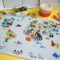Spielteppich Weltkarte. Bild 4