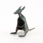 Stifthalter Känguru, grau. Bild 4