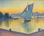 Kunst-Shirt »Signacs Hafen bei Sonnenuntergang«. Bild 4