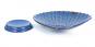 Vogelbadewanne in Muschelform, blau. Bild 4