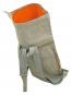 Wasserfester Papierrucksack »Paper Boy«, hellgrau. Bild 4