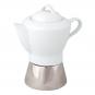 Espressokocher mit Porzellankanne. Bild 5