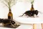 Fayence Tiere »Schwarze Grille«. Bild 5