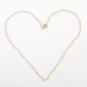 Herzchenkette aus Silber und Gold. Bild 6