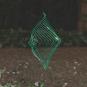 Kinetisches Mobile & Spiel »The Square Wave«, smaragdgrün. Bild 6
