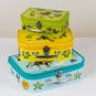 Der kleine Maulwurf. Drei Kinderkoffer mit wunderschönen Motiven. Bild 7