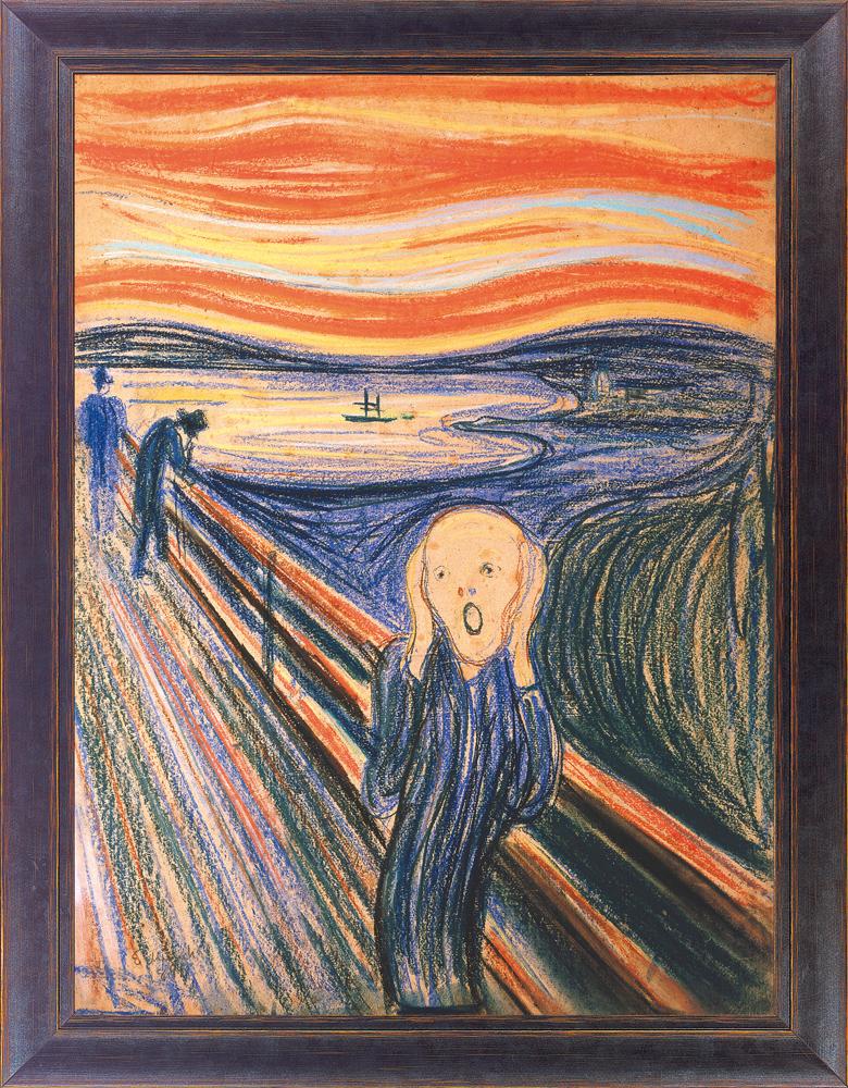 Gemälde Der Schrei