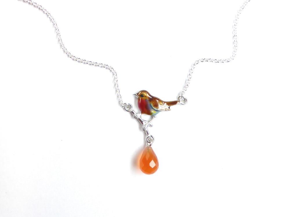 Stilvoll Welle Rot Schmuckset Ohrhänger Und Halskette mit Anhänger S712