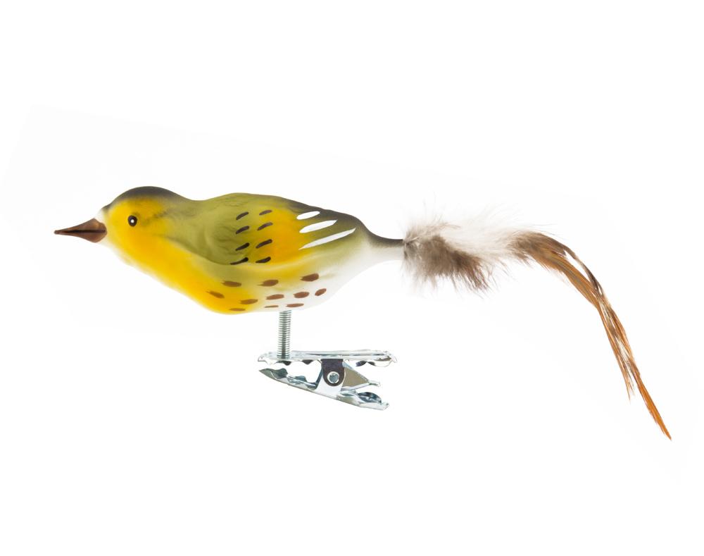 Vogel Christbaumschmuck Erlenzeisig
