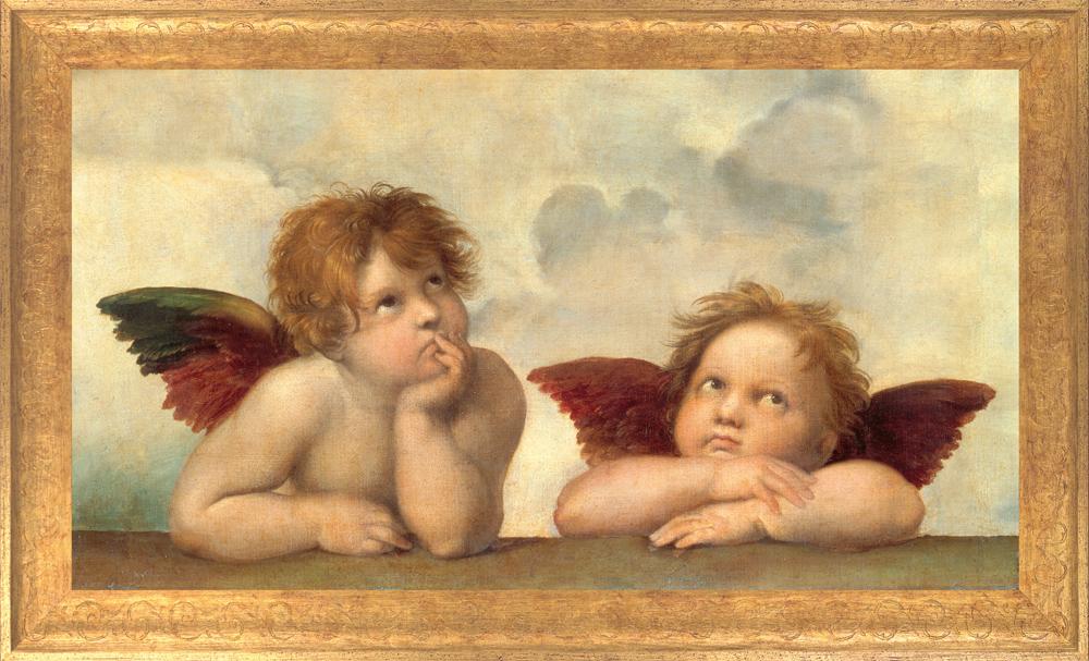 Engel Mit Zwei Löchern